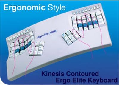 Kinesis Contoured Ergo Elite Keyboard
