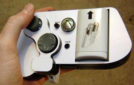 modded xbox 360 controller. One hand 360 controller