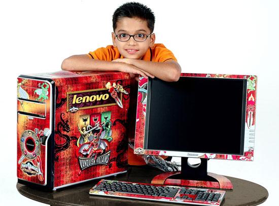 lenovo gets power ranger desktops for tech ticker